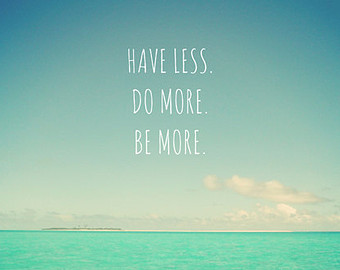 have less